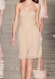 Krótka cielista sukienka