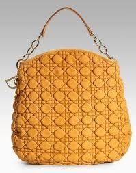 Musztardowa torba torebka