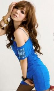 Niebieska tunika młodzieżowa